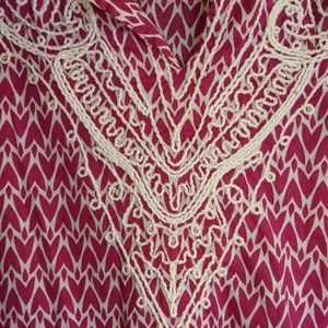 St. John's Bay Pink Tunic